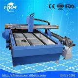 1300mmx2500mm (4 ' Tube&Roundの円形の金属のためのx8') CNCの金属血しょう打抜き機の&Plasmaのカッター