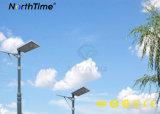 12W de energía solar iluminación con sensor de movimiento