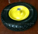 rodas livres lisas do carrinho de mão de roda de 16X4.80/4.00-8 R1