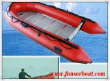 合板の床、膨脹可能ないかだPVC Hypalonボート(FWS-A480)