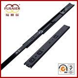 45mm Black Paint Soft-Closing Ball Bearing Drawer Slide