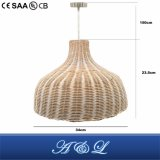 Vendedor quente Rattan Pendant Lamp for Living Room