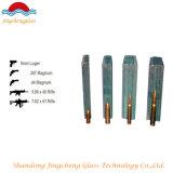 9.76mm-42.3mm freie farbige Gewehrkugel Rsistant/Gewehrkugel-Beweis/kugelsicheres Glas