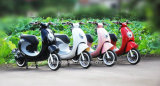 良いデザイン女の子の普及したグリーン電力のEスクーター