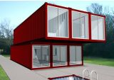 ISO9001: Casa modular certificada 2008 do recipiente (DG5-066)