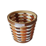 Haute qualité et durable en bois coloré panier de stockage des déchets/bin