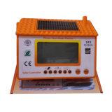 Цвет солнечного регулятора DC12V/24V померанцовый с USB