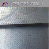 Plaque en acier de l'étage A36 Checkered doux laminé à chaud