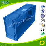 Recipiente di plastica mobile di plastica della casella di immagazzinamento in la casella di logistica