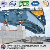 Изготовленный тяжелый раздел h стали для моста