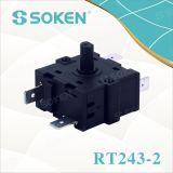 16A 250V (RT243-2)를 가진 5개의 위치 로터리 스위치