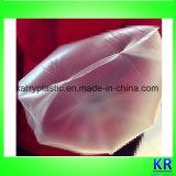 Les sacs clairs de HDPE avec Attacher-Traitent