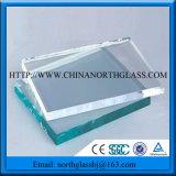 De bonne qualité du verre flotté clair 3-19mm