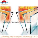 単層の緩和された耐火性ガラス