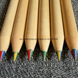 Crayon de plomb de couleur différente