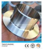 Extremo inconsútil del trozo de los Ss de la instalación de tuberías de la autógena de tope del acero inoxidable