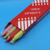 цветастые свечки ручки воска 26g для партии /Candle для Африки