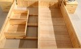 Кровати твердой деревянной кровати самомоднейшие двойные (M-X2233)