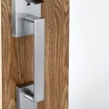 큰 손잡이 문에 박은 자물쇠를 가진 아연 합금 입구 자물쇠