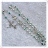 По-разному материал шариков и Rosary Saint католический, цветастые шарики Rosary, католический Rosary (IO-cr299)