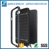 新しいサテンのブラシのSamsung S8/S8のための耐震性の携帯電話の箱と