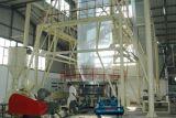 Película vertical de la tracción del invernadero y del pajote que sopla el estirador de Machine&
