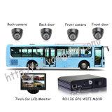 3G передвижное DVR для всех видов корабля с отслежывателем GPS для школьного автобуса передвижного DVR