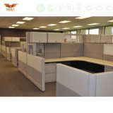 현대 6개의 사람 시트 L 모양 사무실 워크 스테이션 사무실 분할