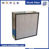 アルミニウム分離器が付いている大きい塵の保有物HEPAフィルター