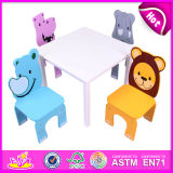 多彩なCute Design Wooden Furniture TableおよびBabyのためのKids Chair
