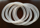 100% giunto circolare del silicone del Virgin, guarnizione del silicone, guarnizione del silicone, colore traslucido, rosso, bianco