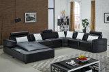 現代家具の居間の革ソファー(H2212)