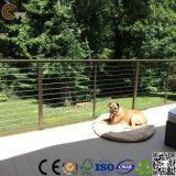 Tablón al aire libre directo de Terrasse WPC de la fábrica de China (TS-04B)