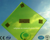 Желтое PVB Laminated Glass с CE, ISO
