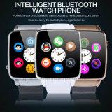 """1.54 """" teléfonos elegantes del reloj de la pantalla táctil con la ranura para tarjeta X6 de SIM"""