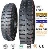 인도 패턴 Mrf 세발자전거 타이어 3 짐수레꾼 타이어 Tuk Tuk 타이어 4.00-8