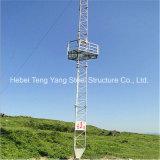 China 30m Cable de acero galvanizado de telecomunicaciones tipo torre de celosía