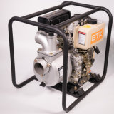 Pompe à eau diesel refroidie à l'air approuvée de la CE