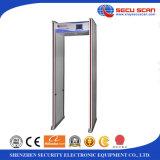 Impermeabilizar la caminata con detecor del metal con el detector de metales de la salvaguardia de batería de la entrada de información MBSU AT300C