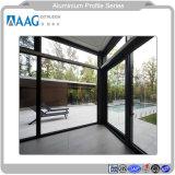 GB estándar de la puerta de perfil de la ventana de aluminio perfil de aluminio con recubrimiento de polvo perfil de aluminio para muro cortina