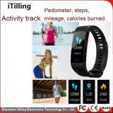 Brazalete Pulsera inteligente de la banda de Fitness Tracker Smart reloj teléfono Pulsera Reloj con Monitor de ritmo cardíaco, tensiómetro