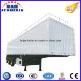 Carico all'ingrosso dell'Tri-Asse 13meter/rimorchio pratico del camion resistente elemento portante del carbone con la cassetta portautensili