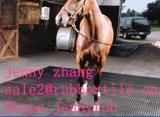 Hoja de anti-fatiga vaca de goma, goma Mat estable, caballo Puesto Mats