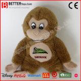 싼 승진 견면 벨벳 동물에 의하여 채워지는 원숭이 연약한 장난감