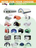 يعلن قابل للنفخ [أوتدوور ستج] خيمة اللون الأخضر تغذية لأنّ حادث