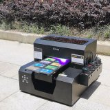Печатание фотоего изображения на принтере ярлыка подарка промотирования кристаллов портативном