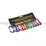 선전용 다채로운 알루미늄 Carabiner Keychain