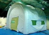 Luft dichtete verwendetes aufblasbares Zelt