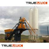 Installatie van uitstekende kwaliteit van het Type van Riem van de Productiecapaciteit de Mobiele Concrete 60m3