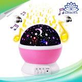 Proyección ideal de la lámpara de la luz de la noche del proyector LED de la noche de la rotación para Víspera de Todos los Santos Chirstmas